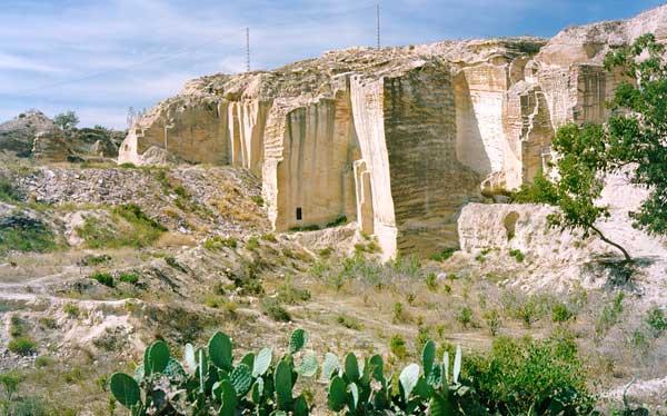 Canteras romanas de Cartagena